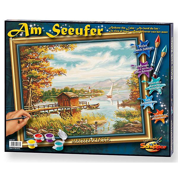 Schipper Картина по номерам Schipper На берегу озера 40х50 см картина по номерам поцелуй schipper 40х50 см