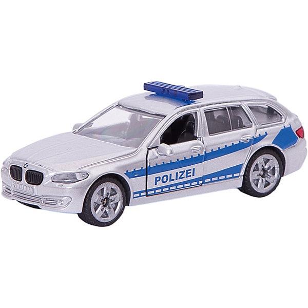 SIKU 1401 Патрульная машинаМашинки<br>SIKU (СИКУ) 1401 Патрульная машина на базе VW Passat изготовлена из качественных металлических и пластмассовых деталей, с резиновыми колесами. <br><br>Цвет серебристый с синими полосами, надпись Полиция. На крыше автомобиля установлен проблесковый маячок. Передние двери открываются, колёса вращаются. Машинку можно катать.<br><br>Дополнительная информация:<br>-Материал: металл с элементами пластмассы<br>-Размер игрушки: 8,7 x 3,8 x 2,9 см<br><br>Полицейская машинка понравится любому мальчику, а удобная форма и размер машины позволит взять игрушку полностью в руку, что поможет тренировать координацию движения и мелкую моторику.<br><br>SIKU (СИКУ) 1401 Патрульную машину можно купить в нашем магазине.<br>Ширина мм: 100; Глубина мм: 86; Высота мм: 38; Вес г: 60; Возраст от месяцев: 36; Возраст до месяцев: 96; Пол: Мужской; Возраст: Детский; SKU: 1779793;