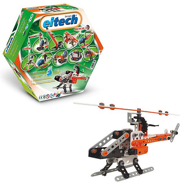 eitech Конструктор Eitech Вертолет, 280 деталей конструктор lepin creators магазинчик на углу 3 в 1 491 дет 24007