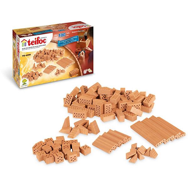 Купить Набор кирпичиков Teifoc, 100 деталей, Германия, Мужской