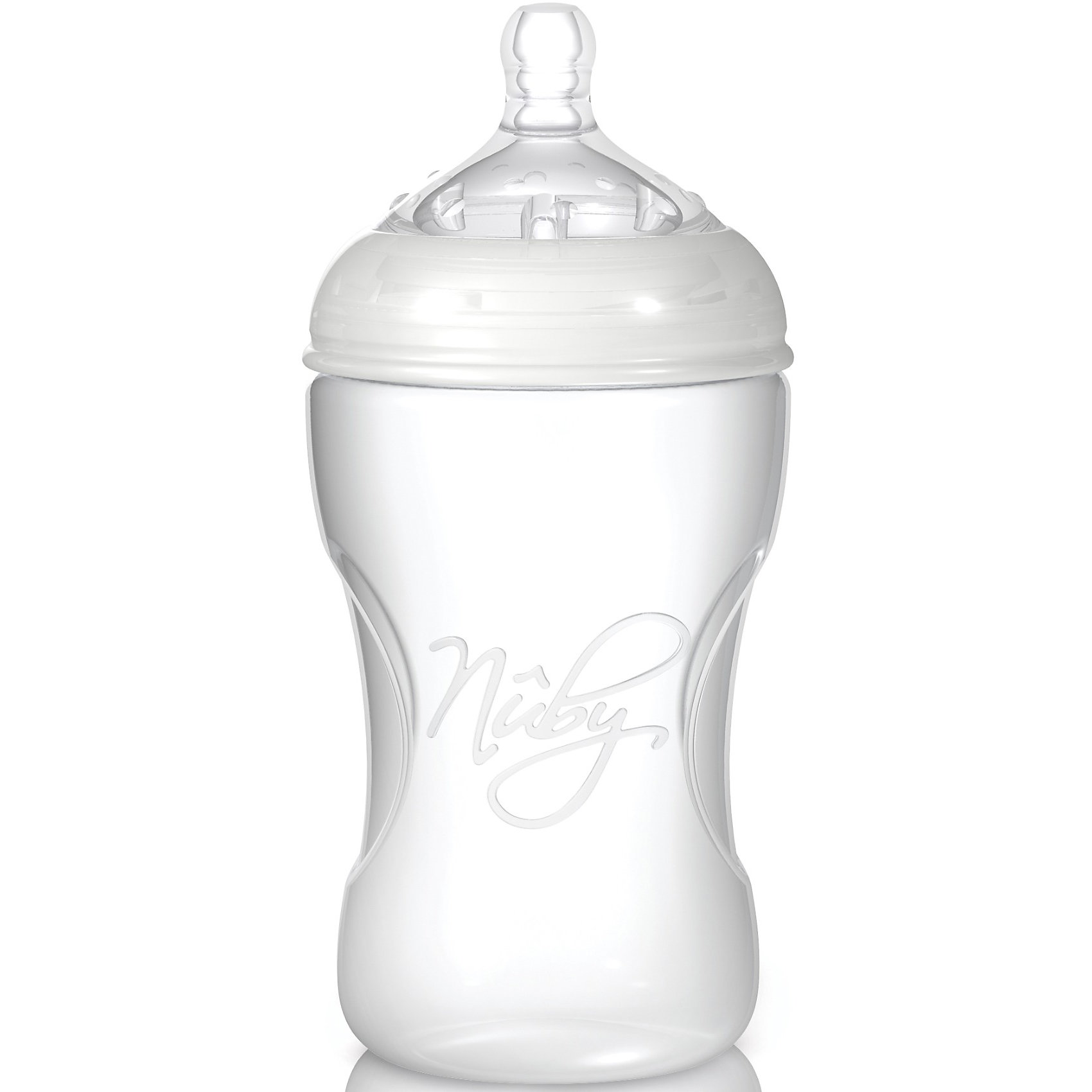 Бутылочка с широким горлышком Natural Touch, 300 мл, Nuby