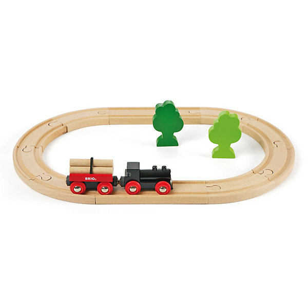 BRIO Железная дорога  малая, 14 деталей