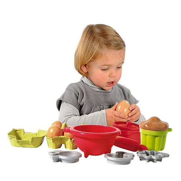 цена на écoiffier Набор посудки с продуктами Ecoiffier, 26 предметов