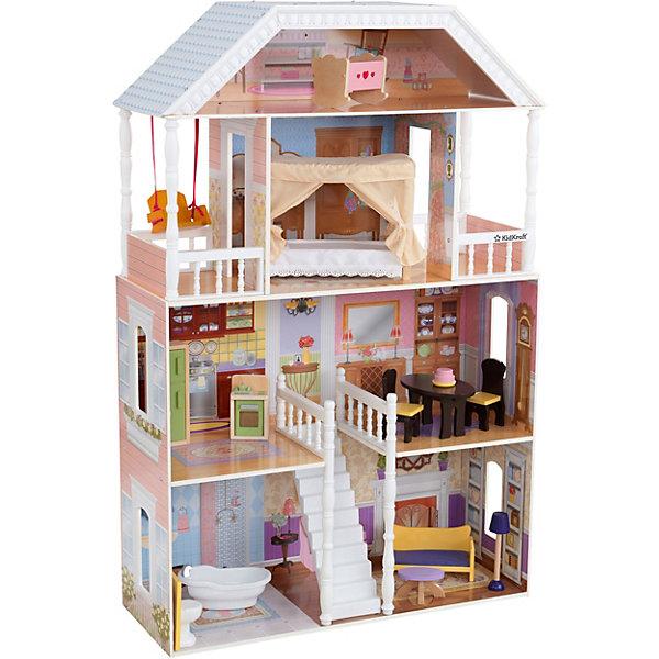 KidKraft Кукольный домик для Барби Саванна, с мебелью, 14 элементов