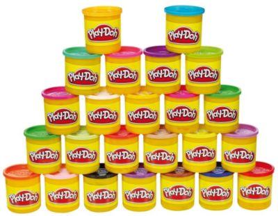 play Play-Doh Набор пластилина 24 банки, Play-Doh