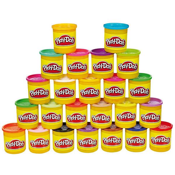 Фото - Play-Doh Набор пластилина 24 банки, Play-Doh багрянцева алена зоопарк из пластилина