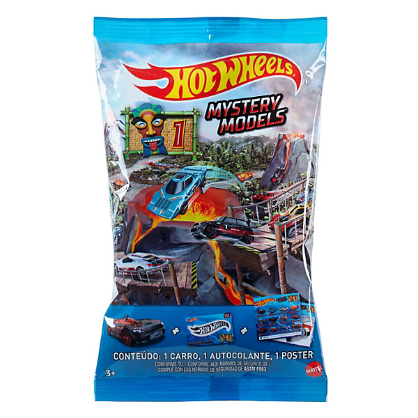 Mattel Коллекционная машинка Hot Wheels Мир гонок, в закрытой упаковке