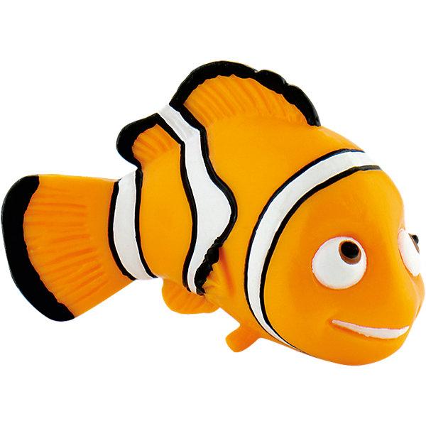 Фигурка Немо,  DisneyФигурки из мультфильмов<br>Фигурка рыбки-клоуна Немо из мультфильма «В поисках Немо». Непослушный и своевольный малыш Немо попадает в аквариум и заводит новых друзей. Его ждут невероятные приключения и незабываемые встречи. Добрый и обаятельный Немо очень нравится детям, он станет другом вашего малыша. Фигурка рыбки-клоуна полностью соответствует герою мультфильма. Игрушка выполнена из высококачественных, нетоксичных материалов и безопасна для детей. <br><br>Дополнительная информация:<br><br>Размер:5,5см <br>Материал: термопластичный каучук высокого качества. <br> <br>Фигурку Немо,  Disney можно купить в нашем магазине.<br>Ширина мм: 66; Глубина мм: 50; Высота мм: 30; Вес г: 14; Возраст от месяцев: 36; Возраст до месяцев: 96; Пол: Женский; Возраст: Детский; SKU: 1985050;