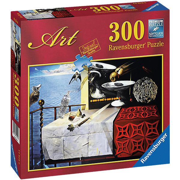 Ravensburger Пазл Дали: Живой натюрморт, 300 деталей, Ravensburger ravensburger пазл пышное цветение 1000 деталей
