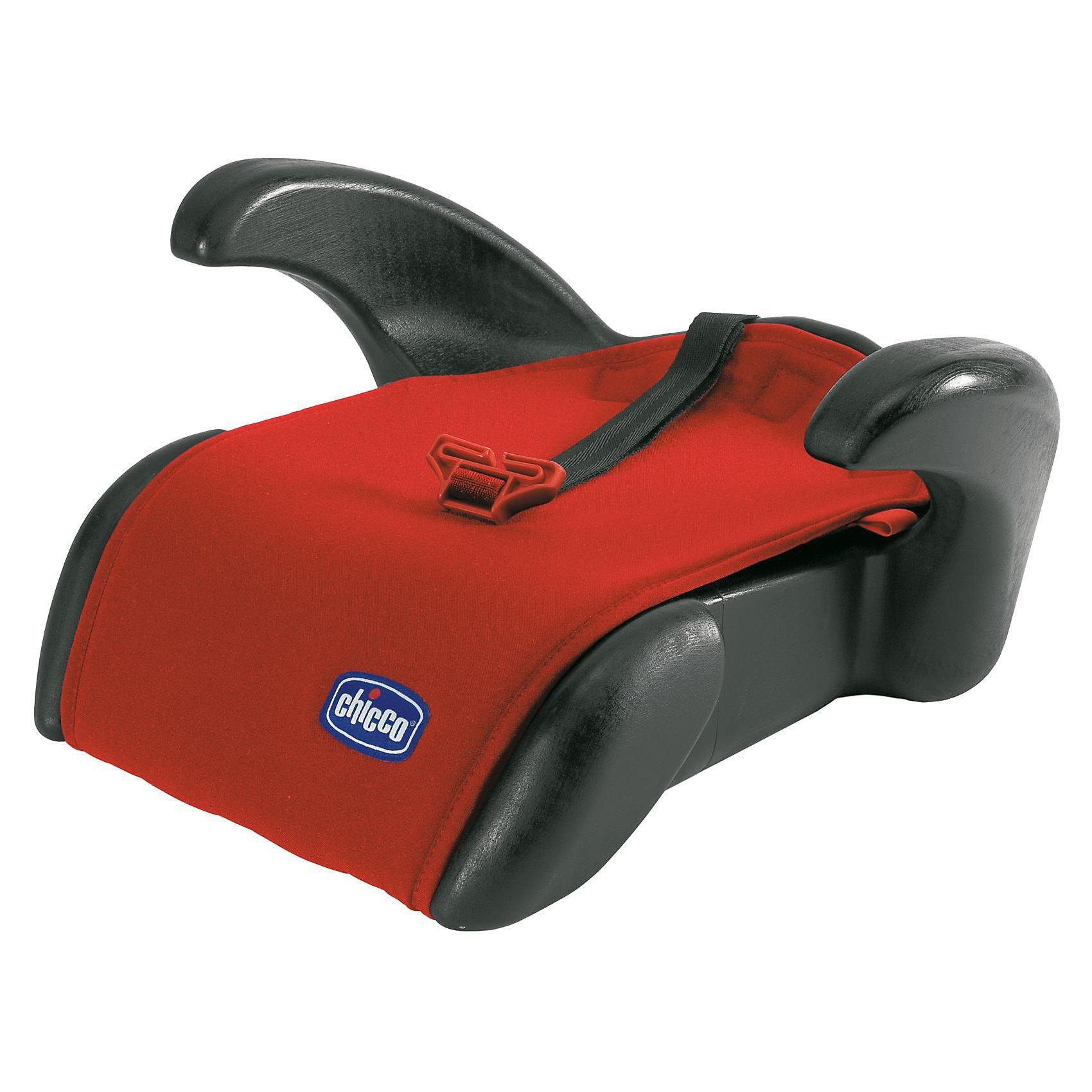 Автокресло-бустер CHICCO Quasar Plus, 15-36 кг, FUEGO, красный