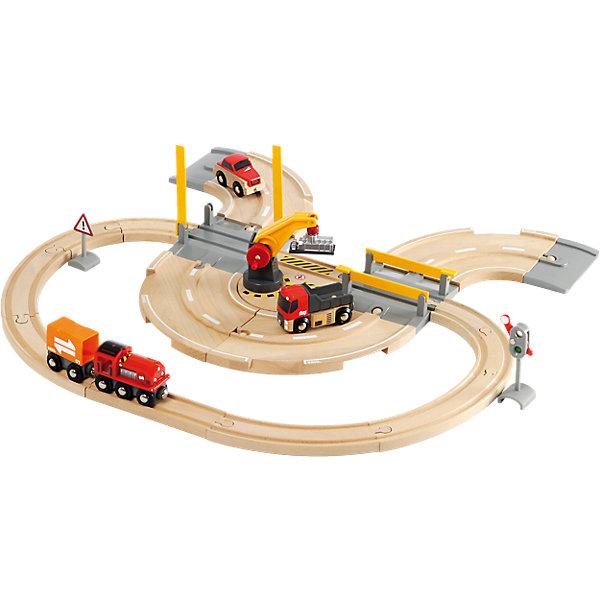 BRIO Игровой набор Brio Железнодорожный переезд