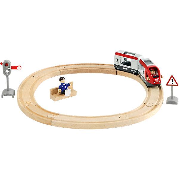 BRIO Железная дорога со светофором, 15 элементов