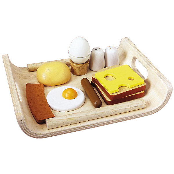 Plan Toys PLAN TOYS 3415 Набор Завтрак на подносе plan toys пирамидка