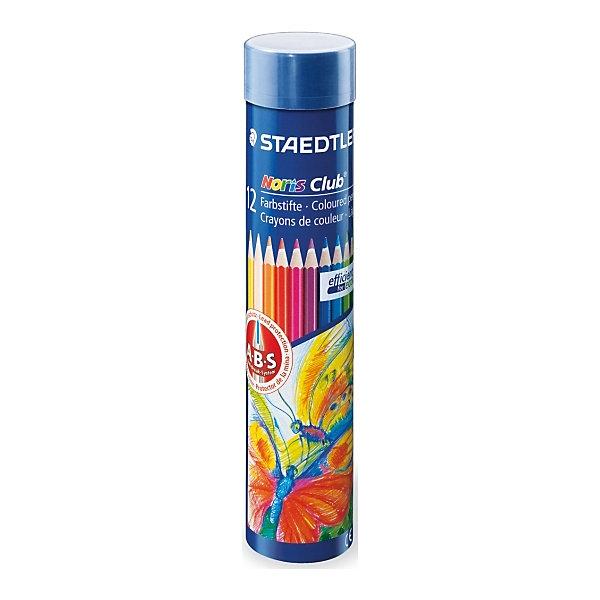 Staedtler Цветные карандаши Noris Club, 12 цв. карандаши цветные noris club jumbo 12 цветов трехгранные точилка 128nc12p1