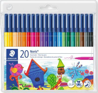 Набор фломастеров NorisClub, 20 цветов, артикул:2031254 - Письменные принадлежности