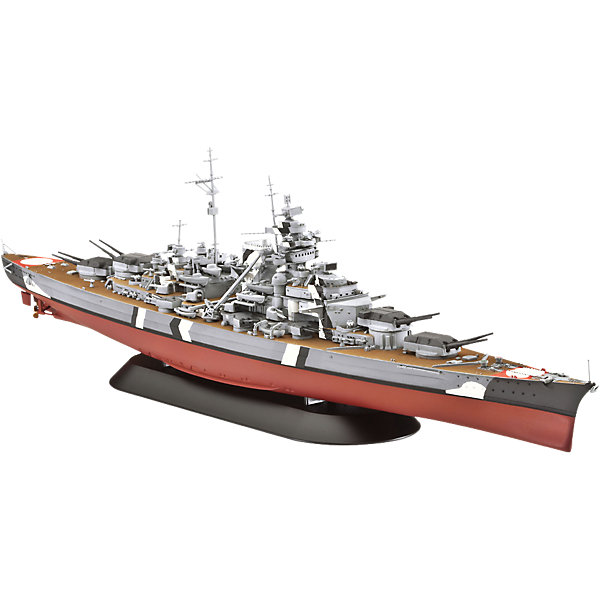 Revell Сборная модель Revell Корабль линейный Bismarck древпром табурет древпром скалли капитон 3173 8y9xvvi