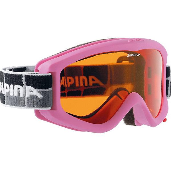 Alpina Горнолыжные очки Alpina CARVY 2.0 SH rose SLT S2/SLT S2 sol slt 011 02