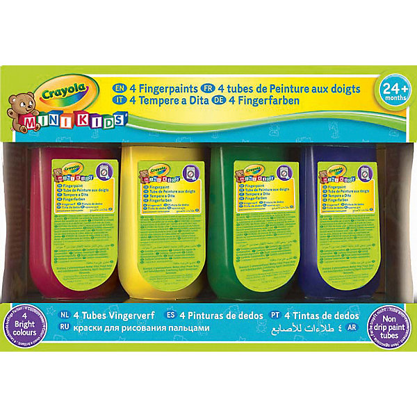 Crayola Mini-Kids, 4 цвета, Crayola