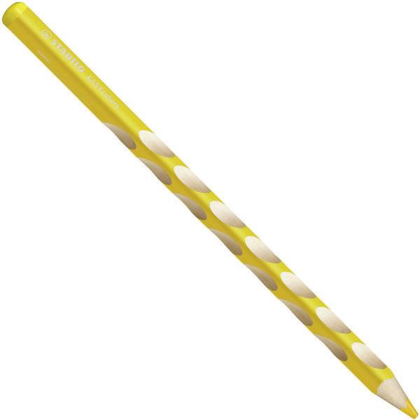 Набор цветных карандашей для левшей, STABILO EasyColors, 6 цв.Карандаши<br>Набор цветных карандашей для левшей, 6 цв., EASYCOLORS от марки Stabilo<br><br>Эти карандаши созданы немецкой компанией для комфортного и легкого рисования. Цвета яркие, линия мягкая и однородная. Будут долго держаться на бумаге и не выцветать. Рисование помогает детям развивать усидчивость, воображение, образное восприятие мира, а также мелкую моторику рук.  <br>Этот набор разработан специально для детей, осваивающих рисование и процесс письма. Он создан с учетом особенностей строения и развития руки ребенка. На деревянном карандаше сделаны специальные углубления, которые подсказывают детям правильное расположение пальцев на пишущем инструменте. <br>Даже после заточки карандашей они продолжают полноценно исполнять эту функцию. Форма этих предметов позволяет карандашам удобно ложиться в детской руке и не вызывать усталости мышц. Предназначены для левшей.<br><br>Особенности данной модели:<br><br>комплектация: 6 шт.<br><br>Набор цветных карандашей для левшей, 6 цв., EASYCOLORS можно купить в нашем магазине.<br>Ширина мм: 239; Глубина мм: 101; Высота мм: 18; Вес г: 84; Возраст от месяцев: 72; Возраст до месяцев: 192; Пол: Унисекс; Возраст: Детский; SKU: 2128524;