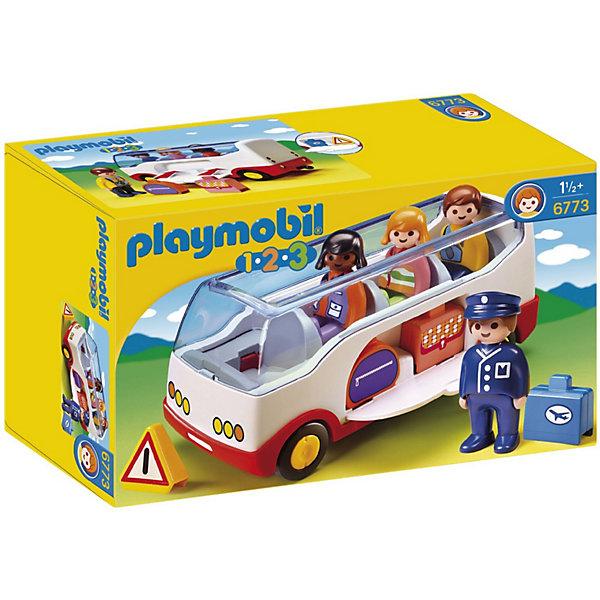 PLAYMOBIL® Конструктор Playmobil Шаттл бас в аэропорт playmobil® playmobil 5536 р у подводный мотор для яхты