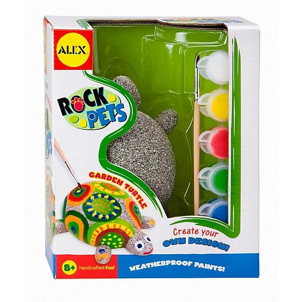 ALEX Набор Раскрась черепаху , ALEX наборы для поделок лавка чудес набор собери и раскрась самолет