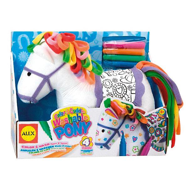 ALEX Набор для творчества Раскрась пони , ALEX игрушка для ванной alex alex игрушка для ванной черепашка