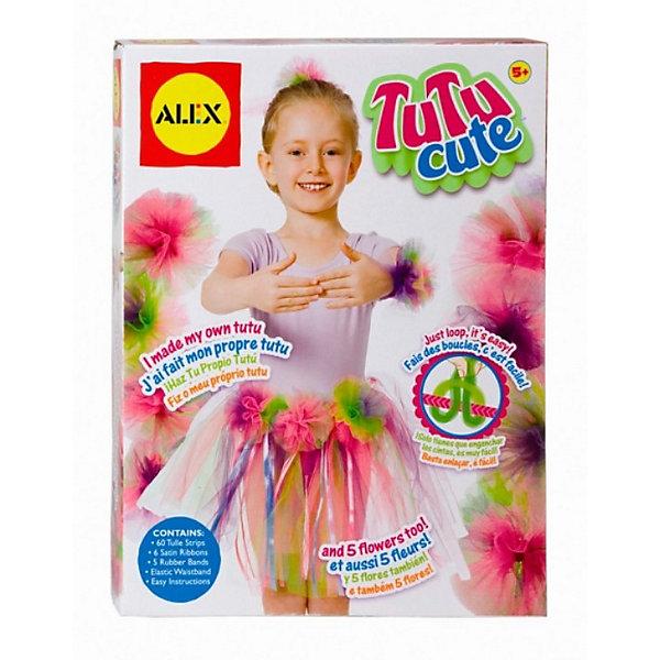 ALEX Набор Пачка Балерины для рукоделия , ALEX набор для вязания alex шапки и шарфа от 7 лет 87pn