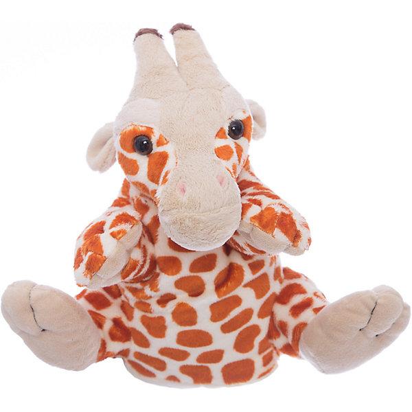Gulliver Мягкая игрушка жираф-руковичка, 27смМягкие игрушки на руку<br>Мягкая игрушка жираф-руковичка.<br><br>Всем детишкам нравятся мягкие игрушки - они такие милые и приятные на ощупь. А этого жирафа ещё можно надеть на ручку и разыграть настоящий спектакль!<br><br>Дополнительная информация:<br><br>Размер: 27 см.<br><br>Материал: высококачественный синтетический плюш<br><br>Удивите своего ребёнка ярким и интересным подарком!<br>Ширина мм: 100; Глубина мм: 40; Высота мм: 270; Вес г: 50; Возраст от месяцев: 36; Возраст до месяцев: 84; Пол: Унисекс; Возраст: Детский; SKU: 2148684;