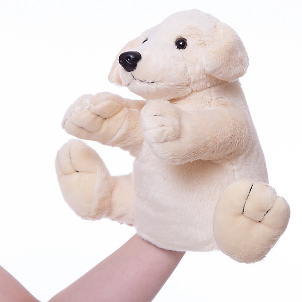 Gulliver Рукавичка-собакаМягкие игрушки на руку<br>Мягкая игрушка рукавичка-собака.<br><br>Собачка сделана в виде рукавички одевающейся на руку, что позволяет волшебным образом превратить неподвижную и неразговорчивую игрушку, в настоящего домашнего питомца, который к тому же может поговорить или рассказать сказку. Кроме того можно устроить настоящее домашнее кукольное представление с участием различных животных из этой серии. <br><br>Дополнительная информация:<br><br>Размер: 27 см. <br><br>Рукавичка-собачка обязательно порадует Вашего малыша!<br>Ширина мм: 100; Глубина мм: 150; Высота мм: 270; Вес г: 50; Возраст от месяцев: 36; Возраст до месяцев: 84; Пол: Унисекс; Возраст: Детский; SKU: 2148686;