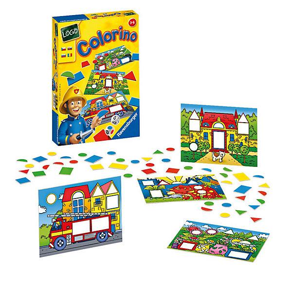 Настольная игра Цвета и формы RavensburgerИзучаем цвета и формы<br>Эта увлекательная развивающая игра от фирмы Ravensburger открывает ребенку дорогу к познанию основных цветов и форм. <br><br>Подбирая фигуры по форме и цвету, ребенок в игровой форме знакомится с их многообразием. Возможны различные варианты игры: и простая подборка по заданным на игровом поле параметрам и поиск подходящего варианта, выпавшего на игровом кубике.<br><br>Детали выполнены из плотного качественного картона, который не мнется при использовании. Такая игра прослужит Вам и Вашему малышу долго.<br><br>Занимательная игра Цвета и формы от Ravensburger развивает логическое мышление, память и мелкую моторику пальцев и рук.<br><br>Дополнительная информация:<br><br>В комплекте:<br>- 4 игровые карточки-картинки;<br>- 64 разноцветные фишки – различные геометрические формы;<br>- игральный кубик с цветными точками;<br>- игральный кубик с геометрическими формами;<br>- инструкция на русском языке. <br><br>Продолжительность игры: 20 мин.<br>Размеры упаковки (д/ш/в): 22,5 х 33 х 3,5 см. <br>Количество игроков: 2-8.<br>Ширина мм: 225; Глубина мм: 330; Высота мм: 35; Вес г: 503; Возраст от месяцев: 36; Возраст до месяцев: 72; Пол: Унисекс; Возраст: Детский; SKU: 2148765;