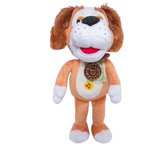 Мягкая игрушка Барбос, 20 см, Бобик в гостях у Барбоса, МУЛЬТИ-ПУЛЬТИСимвол года<br>Мягкая игрушка собака Барбос от Мульти-Пульти порадует и позабавит Вашего ребенка. Собачка Барбос из мультфильма Бобик в гостях у Барбоса хорошо знакома как детям так и взрослым, это озорной веселый пес, который очень любит пошалить. Игрушка оснащена звуковым устройством, если нажать на собачку, она заговорит голосом своего персонажа и споет песенки.<br><br>Дополнительная информация:<br><br>- Материал: цветной плюш, текстиль, пластик.<br>- Требуются батарейки:  3 *типа LR44 (входят в комплект).<br>- Размер игрушки: 20 см.<br>- Размер упаковки: 14 х 22 х 17 см.<br> <br>Мягкую игрушку Барбос из мультфильма Бобик в гостях у Барбоса от Мульти-Пульти можно купить в нашем магазине.<br>Ширина мм: 110; Глубина мм: 190; Высота мм: 280; Вес г: 330; Возраст от месяцев: 36; Возраст до месяцев: 72; Пол: Унисекс; Возраст: Детский; SKU: 2149196;