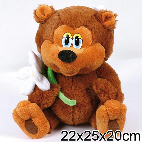 Купить Мягкая игрушка Медвежонок, 25 см, Трям, Здравствуйте , МУЛЬТИ-ПУЛЬТИ, Мульти-Пульти, Китай, Унисекс