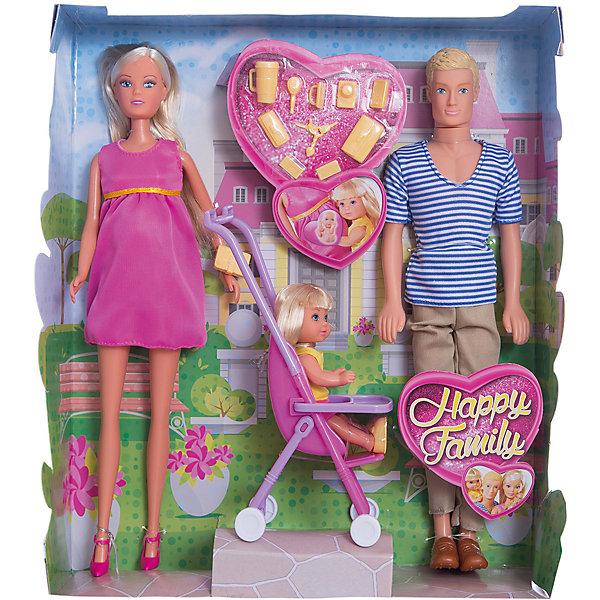 Simba Steffi Love Семья Штеффи simba игровой набор с куклами simba steffi love королевская семья штеффи кевин еви тимми