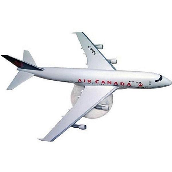 Набор Самолет Boeing 747, 1:390, (3)Самолеты и вертолеты<br>Характеристики товара:<br><br>• возраст: от 10 лет;<br>• масштаб: 1:390;<br>• количество деталей: 60 шт;<br>• материал: пластик; <br>• клей и краски в комплект не входят;<br>• длина модели: 18,3 см;<br>• размах крыльев: 15,6 см;<br>• бренд, страна бренда: Revell (Ревел), Германия;<br>• страна-изготовитель: Польша.<br><br>Набор для сборки «Самолет Boeing 747» поможет вам и вашему ребенку придумать увлекательное занятие на долгое время и весело провести свой досуг. <br><br>Модель самолета, изготовленная в масштабе 1:390. Данная модель собирается из 60 пластиковых деталей и относится к третьему уровню сложности сборки из пяти существующих. В комплект набора также включены необходимые для осуществления сборки клей, кисточка и краски 3-ех цветов. В упаковку вложена подробная инструкция.<br><br>Процесс сборки развивает интеллектуальные и инструментальные способности, воображение и конструктивное мышление, а также прививает практические навыки работы со схемами и чертежами. <br><br>Набор для сборки «Самолет Boeing 747», 42 дет., Revell (Ревел) можно купить в нашем интернет-магазине.<br>Ширина мм: 270; Глубина мм: 230; Высота мм: 33; Вес г: 317; Возраст от месяцев: 144; Возраст до месяцев: 1188; Пол: Мужской; Возраст: Детский; SKU: 2149879;