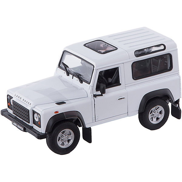 Welly Welly Модель машины 1:24 Land Rover Defender gt2052s turbo cartridge 452239 turbocharger chra core for land rover defender discovery ii 2 5 tdi 90kw 102kw