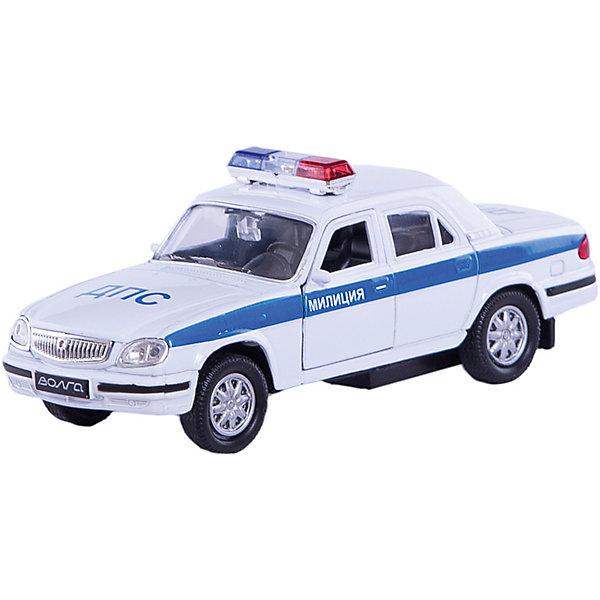 Купить Welly Модель машины Волга Милиция ДПС, Китай, Мужской