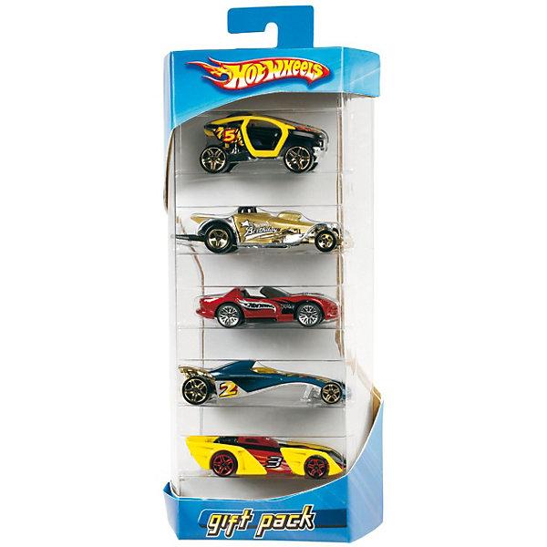 Фото - Mattel Hot Wheels Подарочный набор из 5 машинок масштабные модели