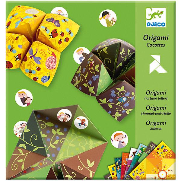 DJECO DJECO Набор Оригами Бумажный djeco набор наклеек крылышки 160 шт