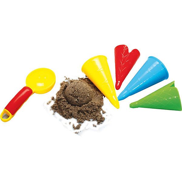GOWI Набор Gowi «Ложка и рожки для мороженого» набор gowi 558 34 куличик