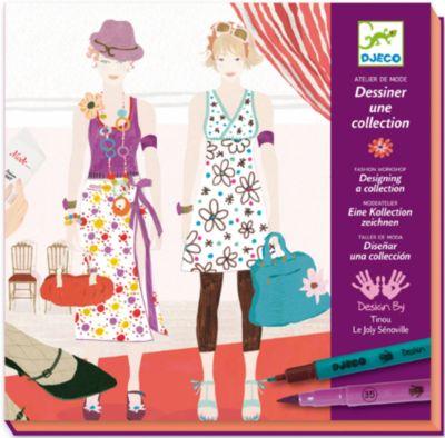 Большой набор-раскраска  Дизайнер одежды , артикул:2200027 - Раскраски