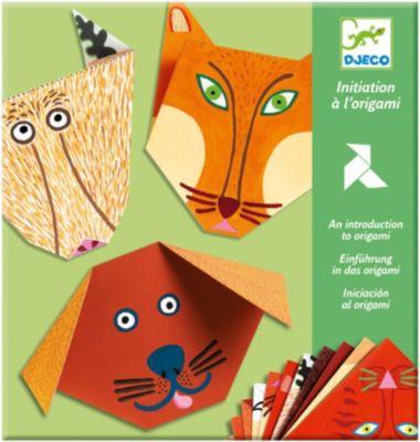 DJECO Набор  Бумажные животные , артикул:2200028 - Рукоделие и поделки
