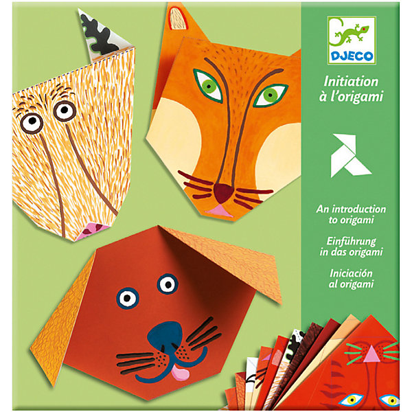 DJECO Набор Бумажные животные