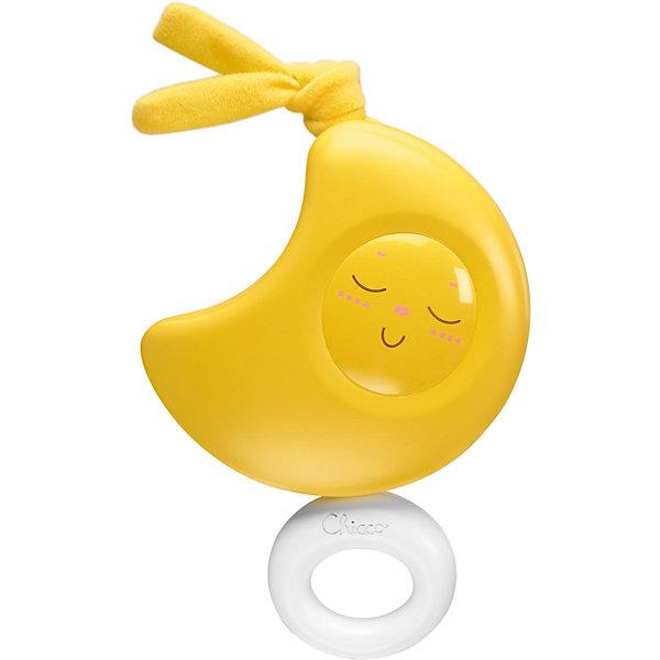 Подвеска Луна, ChiccoИгрушки для новорожденных<br>Подвеска Луна, Chicco (Чикко).<br><br>Характеристики: <br><br>• Размер: 13,5x15x6,5 см. без кольца.<br>• Цвет: желтый.<br>• Материал: гипоаллергенная пластмасса.<br>• когда малыш подрастет, он сможет сам дергать за кольцо, чтобы звучала музыка <br><br>Замечательная музыкальная игрушка для малышей от известного бренда Chicco (Чикко). Милое «личико» Луны обязательно привлечет внимание вашего малыша, мелодичная колыбельная мягко и нежно убаюкает его, едва потянуть ее за пластмассовое колечко. Не нуждается в использовании батареек - механическая игрушка, потянув за колечко, можно услышать спокойную мелодию. Игрушка выполнена из безопасного гипоаллергенного пластика. <br><br>Подвеску Луна, Chicco (Чикко), можно купить в нашем интернет-магазине.<br>Ширина мм: 142; Глубина мм: 62; Высота мм: 211; Вес г: 221; Возраст от месяцев: 0; Возраст до месяцев: 12; Пол: Унисекс; Возраст: Детский; SKU: 2231672;