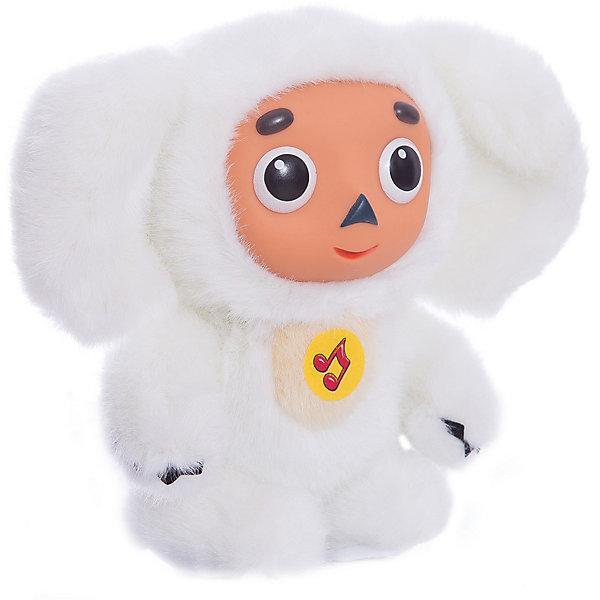 Мульти-Пульти Мягкая игрушка Чебурашка с белым мехом, МУЛЬТИ-ПУЛЬТИ