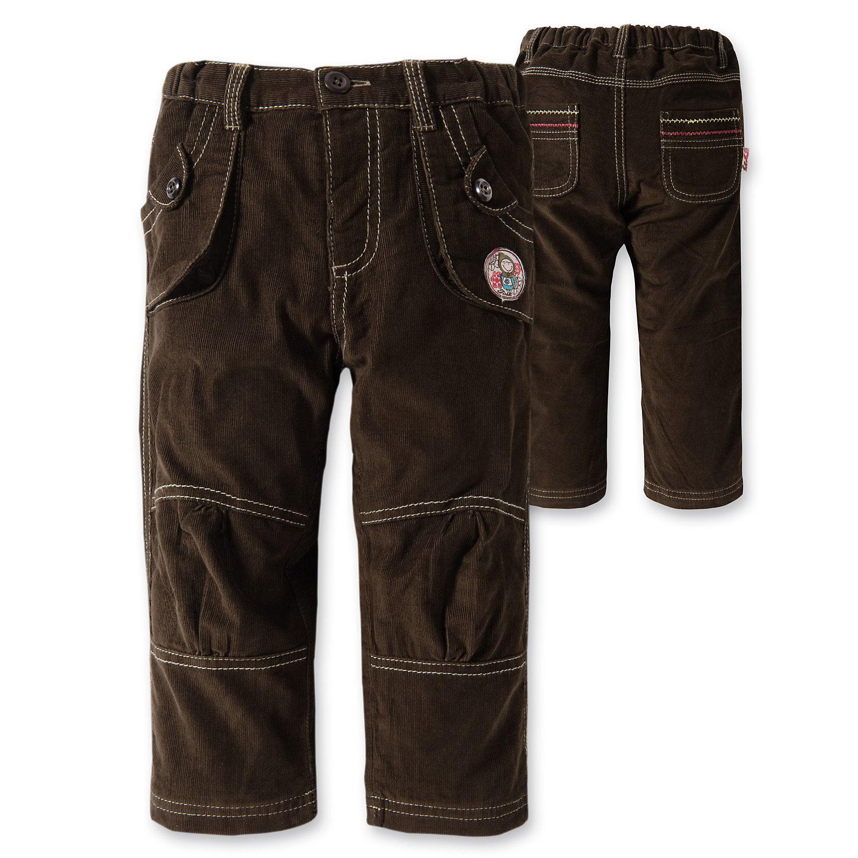 BLUE SEVEN Вельветовые брюки  для девочки