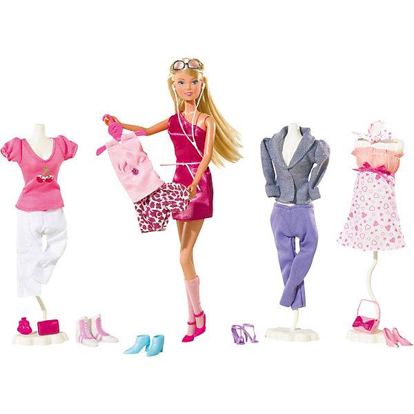 """Simba Игровой набор с куклой Simba """"Steffi Love"""" Штеффи с одеждой и аксессуарами, 45 предметов"""
