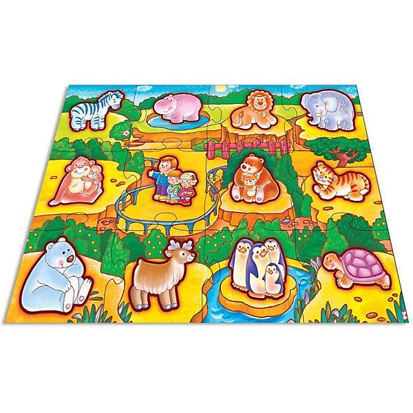Дрофа-Медиа Напольный пазл Дрофа-Медиа В зоопарке дрофа медиа аппликация разноцветная мозаика для малышей гномик