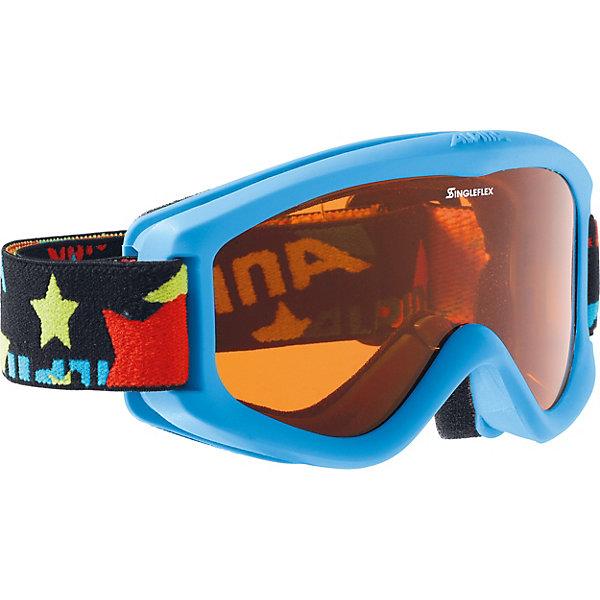 Alpina Горнолыжные очки Alpina CARVY 2.0 SH cyan SLT S2/SLT S2 sol slt 011 02
