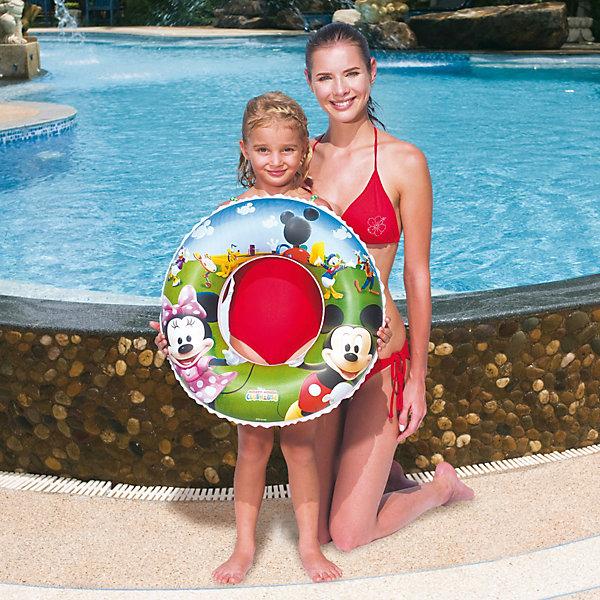 Фотография товара круг для плавания, Микки Маус, 56 см, Bestway (2324277)
