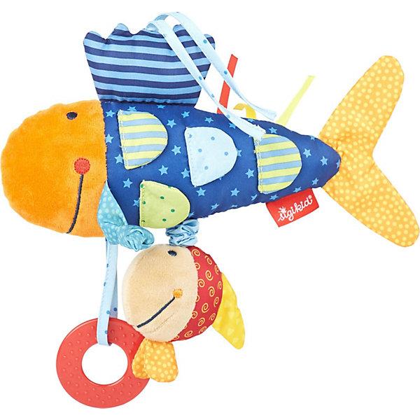 Sigikid Развивающая игрушка Sigikid, Рыбка, коллекция Активный Малыш, 26 см